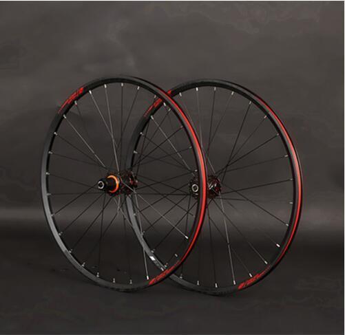 JK MTB 26inch Mountain Bike Sealed Bearing Carbon Fiber Wheels Wheelset 27 5 29inch Aluminum Alloy