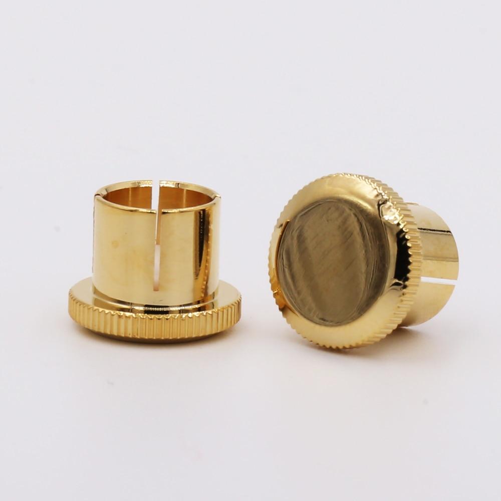 5 Pieces Hi End Yy-fcm-001 Noise Stopper Gold Plated Copper Xlr Plug Caps Xlr Protect Cap Consumer Electronics Accessories & Parts