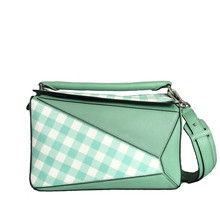PISIDIA Luxury Handbags Women Bags Designer Genuine Leather Geometric Female Shoulder Bag Carry Strap Tote Ladies Crossbody