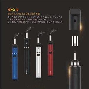 Image 5 - مجموعة عصا تسخين من Kamry GXG I2 بسعة 1900 مللي أمبير في الساعة جهاز تبخير بدون حرق لتدفئة خراطيش إيكوس سجائر التبغ مقابل 2.0 Plus GXG I1S
