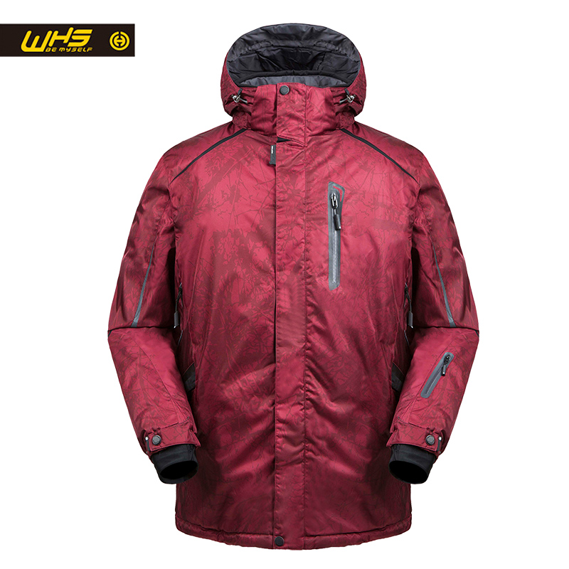 WHS 2018 New men Outdoor Ski Jackets windproof men warm Coat men snow jacket big size Slim clothes male Warm Jacket great color tangnest men formal coat 2018 high quality business casual style men jacket new solid slim long black jacket size m 3xl mwn180