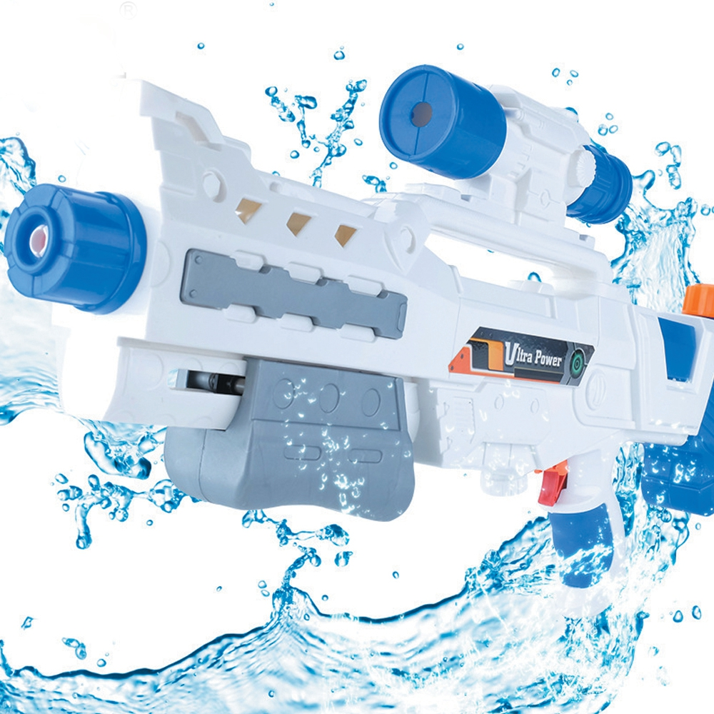 Kids Water Gun Toys High Pressure Range Far Pull Type Air Pressure Water Gun Toy Random Color