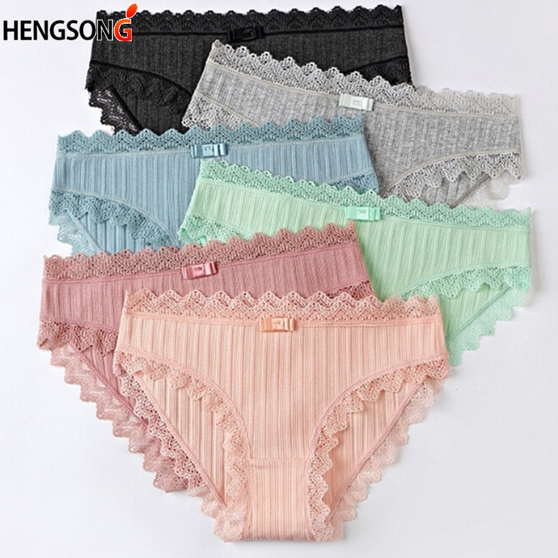 2018 High Elasticity Sweet Color Women Briefs Underwear Sexy Lace Lady Girls Fashion Cozy Underwear Panties Underwear