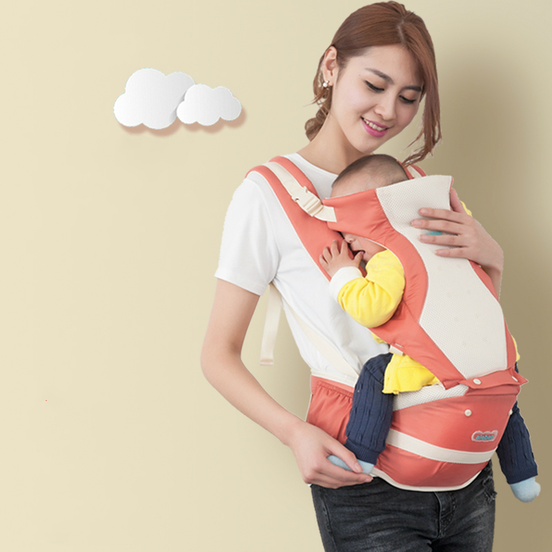 Hot Sell Baby Backpack Baby Belt Carrier Light Weight Summer Breathable Multifunctional Double Shoulder Strap Baby Waist Belt