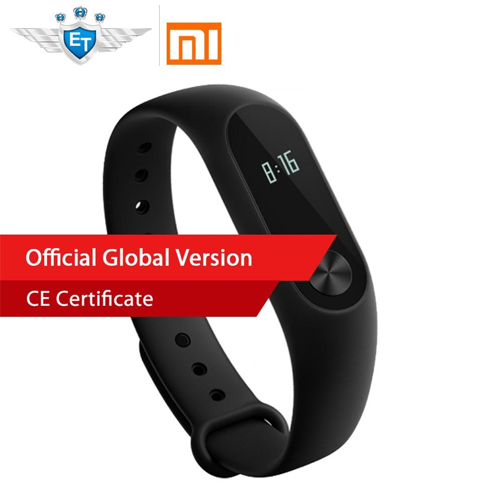 Глобальная версия Xiaomi miband 2 Ми Группа 2 Смарт-браслет монитор сердечного ритма фитнес-трекер Touchpad OLED для IOS и Android