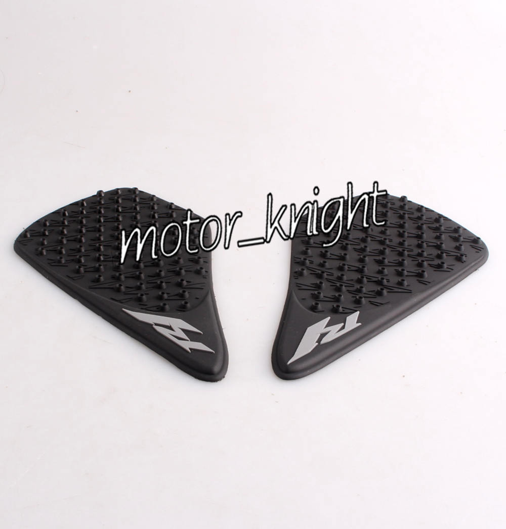 Tank Traction Gas Pad Side Fuel Decals Protector For Yamaha YZF R1 2007-2008