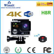 2017 high quality Action Camera Ultra 4K Sports Camera H8R 12MP 170 degree wide lens 1080P 60fps Waterproof Camera