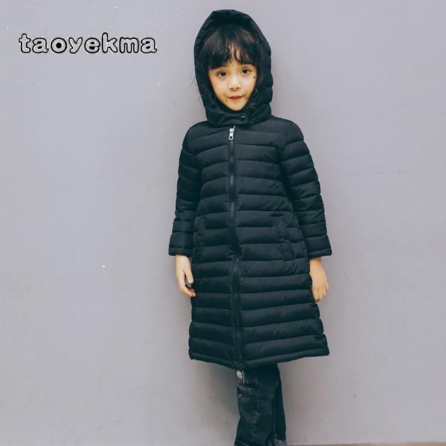 Children Sportswear & Accessories Sports & Entertainment Confident Childrens Long Section Winter Ultra Light Sports Down&parkas Warm Cotton Padded Coat Snowsuit Parkas Thin Type Overcoat W97