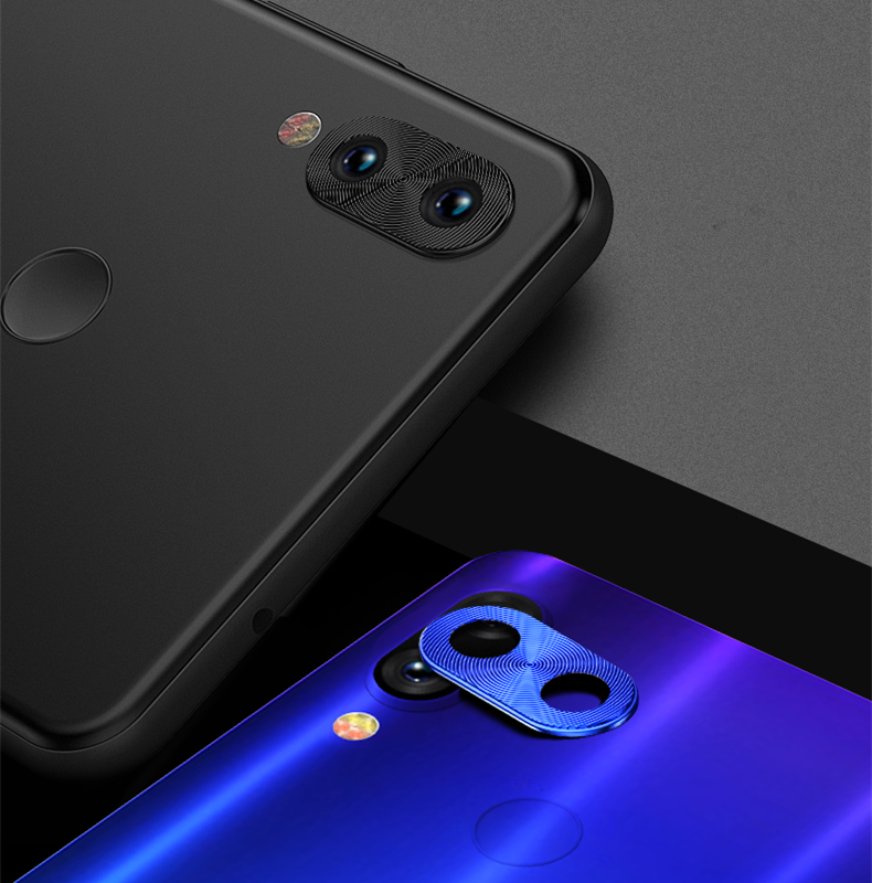 For Xiaomi Redmi Note 7 Camera Lens Protector Ring Plating Aluminum Camera  Lens Protection Cover For Redmi Note 7 Note 7 Pro