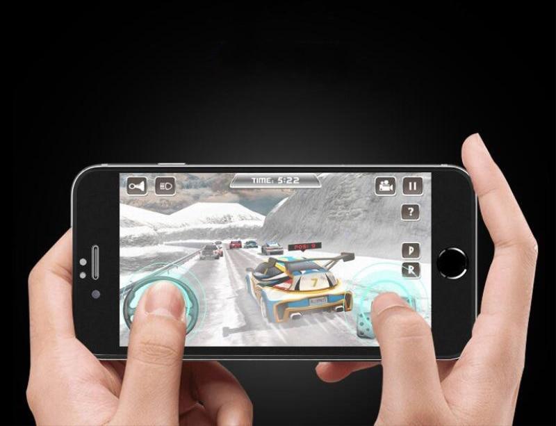 9H 2.5D matowy matowy pełna pokrywa szkło hartowane Screen Protector dla iPhone X XS MAX XR 10 8 7 6s 6 Plus 7Plus anty odciski palców 11