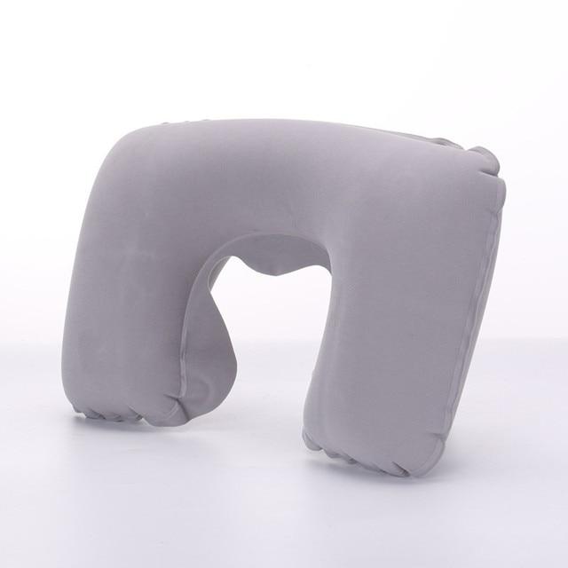 XC USHIO Inflatable Cổ Gối Gối Gối Du Lịch U Hình Đệm Văn Phòng Máy Bay Lái Xe Nap Hỗ Trợ Đầu Phần Còn Lại Chăm Sóc Sức Khỏe Trang Trí