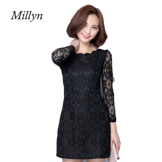 27de4b0aae5 MILLYN IDEAS Women Elegant Pinup Vintage Retro Lace Stretchy Bodycon Party  Fitted Dress Plus Size L -4XL