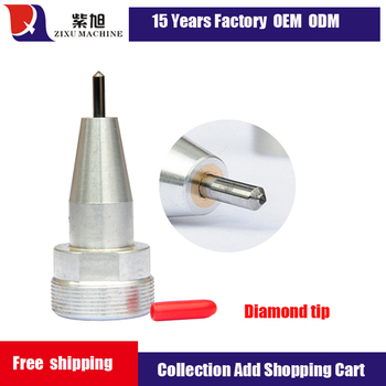 Pneumatic Diamond Tip CNC Machine Spare Parts for Metal Marking Machine& free shipping new 3x60mm m19x1 pneumatic metal marking machine stylus portable metal marking machine parts