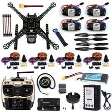 DIY Unmontiert 4 Achse RC FPV Drone S600 Rahmen Kit mit APM 2,8 Keine Kompass 700KV Motor 40A ESC Ladegerät AT9S TX F19457-H