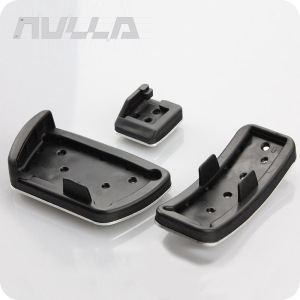 Image 4 - LHD Pedal For Toyota Camry XV40 XV50 2008 2017 No Drill Automatic Aluminum Foot Rrest Pedal Brake Gas Pads Cover Accessories