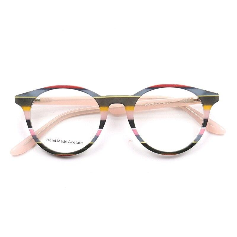 Feitas à Mão Óculos de Acetato Quadro Borboleta Olho de Gato Mulheres Óculos Quadro Feminino Miopia Vidros Ópticos Quadro Top Quality Sqb004