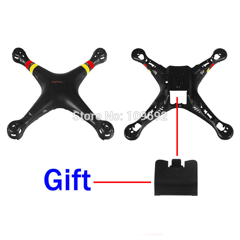 SYMA X8A X8C X8W X8G Main Body shell Cover Quadcopter Fuselage Drone Accessories Spare Parts 2.4G 4CH 6-Axis RC aircraft Subject image