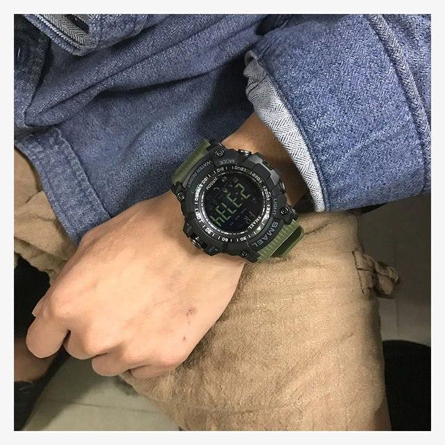 smael спортивные часы для мужчин топ люксовый бренд военные фотография