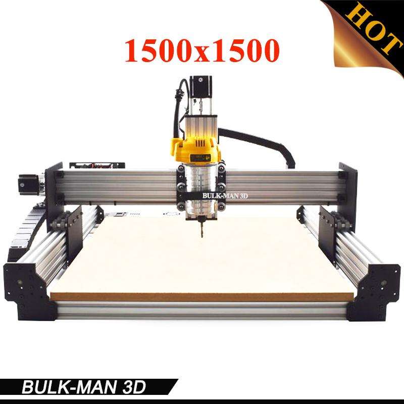 WorkBee CNC Complete Engraving Machine, WorkBee CNC Router Machine Full kit with Spindle Inverter, Electronic Combos 1500*1500mm