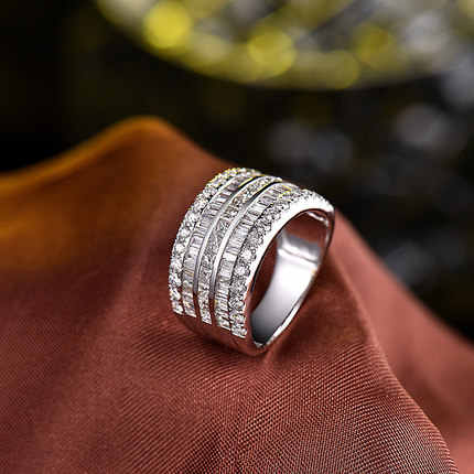 Luxury Female Small Zircon Stone Ring 925 Silver Wedding Jewelry Promise Engagement Rings For Women 2019 Valentine's Day Gifts