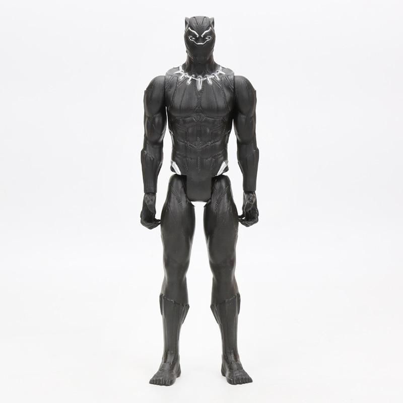 30cm Marvel Avengers Series Black Panther PVC    Figure Model Toy