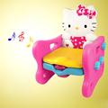 New Cartoon Cat Kid Toilet Pinico Baby Potty Portable Toilet Trainers Assento De Vaso Sanitario Child Toilet Seat with Music