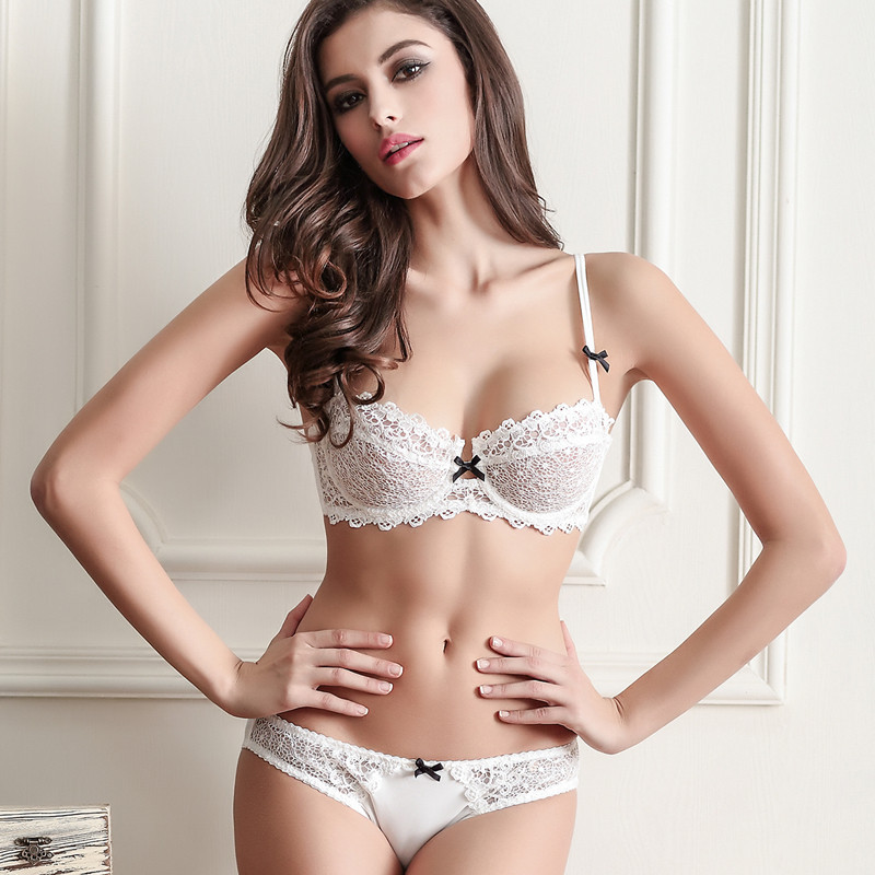 women underwear set intimate lace bra set a b c d transparent bra brief sets sexy women. Black Bedroom Furniture Sets. Home Design Ideas