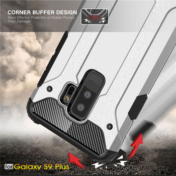 Rugged Armor Case For Samsung Phones Hard PC Shockproof Cover 1