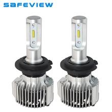 Safeview H4 LED H7 лампы фар Мини вождение автомобиля H8 H9 H11 H1 D1S D2S/R D3S D4S 9005 9006 880 881 HB3 HB4 авто светодиодные лампочки