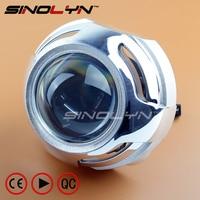 Car Styling Light Source 3 0 Inch HID BI XENON Headlight Projector Lens Retrofit Kit Fits