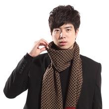 Classic Design Male Scarf plaid classic font b tartan b font scarf Man Striped scarves Fall