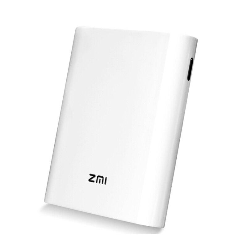 Original Xiaomi ZMI MF855 7800 mAh Power Bank mifi 3G 4G Router Inalámbrico Wifi Repetidor punto de Acceso Móvil con 7800 mAh Powerbank