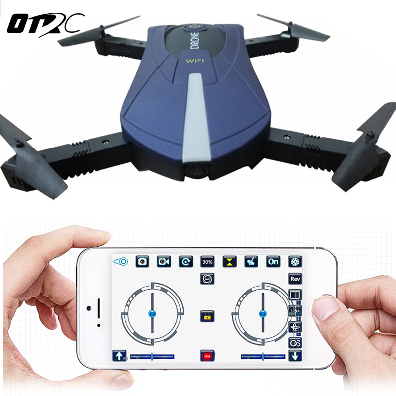 OTRC JY018 Mini RC Selfie Drone FPV Quadcopter with 0.3MP / 2MP Wifi Camera Foldable Drones Pocket Dron RC Helicopter