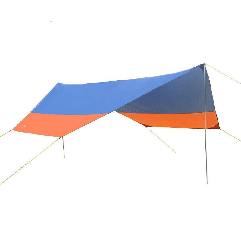 Outdoors Beach Anti-UV Prevent Rain Sun Shelter Camp Roof Awning Tent Ultralight Canopy Pergola Sun Shelter Sunshade Shed ZYP02