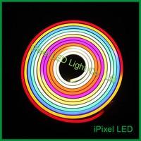 60 leds/m IP65 waterproof UCS1903 digital 10 pixel flex led neon light for builiging decoration