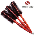 Retaail   Professional anti-static Advanced mane comb Bristle circular combing round Mane brush roll comb Hair E338