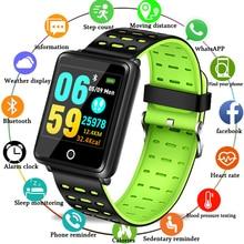 LIGE 2019 Новый умный браслет Спорт фитнес-трекер кровяное давление пульсометр умные часы мужские Шагомер Смарт-группа + коробка