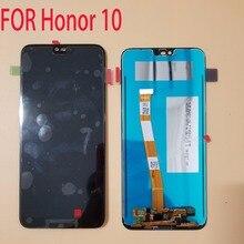 Оригинальный сенсорный ЖК дисплей 5,84 дюйма с отпечатком пальца для Huawei Honor 10/Honor10, дигитайзер в сборе, Замена + Инструменты