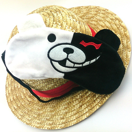 Dangan Ronpa Danganronpa Monokuma Eyepatch Patch Eyeshade Sleep Mask