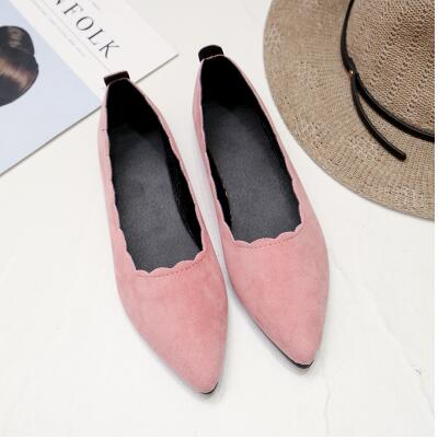 Single Shoes Nurses Work Shoes New High Quality Flats Spring and Summer Scrub Round Head Flat with Women Low-top Shallow South dreamshining new fashion women colorful flat shoes women s flats womens high quality lazy shoes spring summer shoes size eu35 40