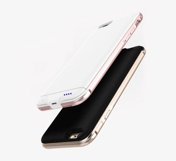 Цена за Бесплатная доставка 2016 Портативный Сверхтонкий Расширенный случае Батарея для iphone7 дело power с 3000 мАч 4.7 дюймов