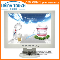 12 inch TFT Desktop Computer VGA Monitor, 12 inch USB Touch Screen Monitor for Medical Equipment
