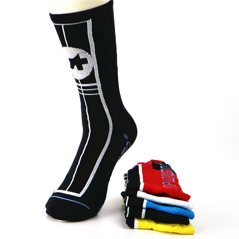 Professional Cycling Sport Socks Protect Feet Breathable Basketball Hiking Walking Sokcs