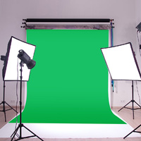 10X10ft Chromakey Green Photo Screen Muslin Green Cloth Screen Backdrop Photo Photography Studio Background