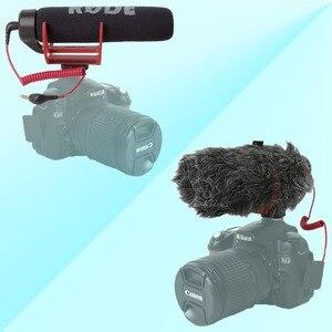 Image 3 - Orsda Ro de VideoMicro va sur caméra Microphone pour Canon Nikon Lumix Sony Smartphones gratuit Windsheild Muff/adaptateur câble