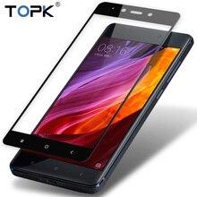Per Xiaomi Redmi Nota 4X Protezione Dello Schermo, TOPK HD Sereno Completo di Copertura In Vetro Temperato per Xiaomi Redmi Nota 4 Versione Globale