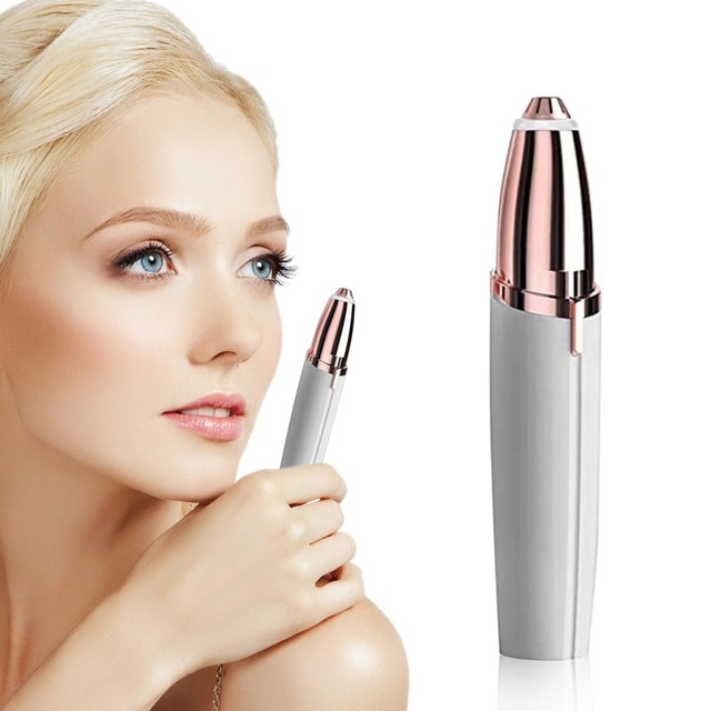NEW Electric Face Brows Hair Remover Epilator Mini Eyebrow Shaver Instant Painless Portable Epilator Dropshipping цена 2017