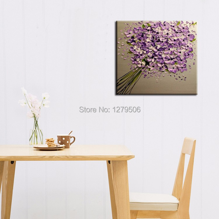 2015 New Painting Handmade Abstract Flower Purple Knife Flower Oil Painting On Canvas For Living Room Decoration Wall Artwork.jpg