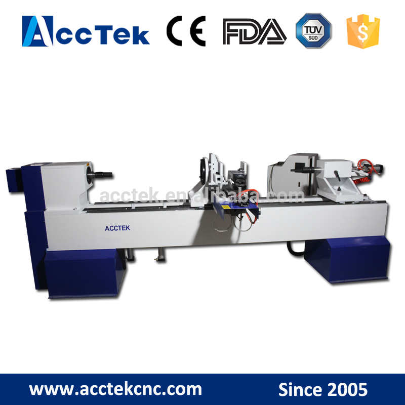 Multifunction Engrave Carving Function Best Price Cnc Wood Working Lathe Machine