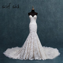 saf sid Mermaid Wedding Dresses 2019 Sexy Backless